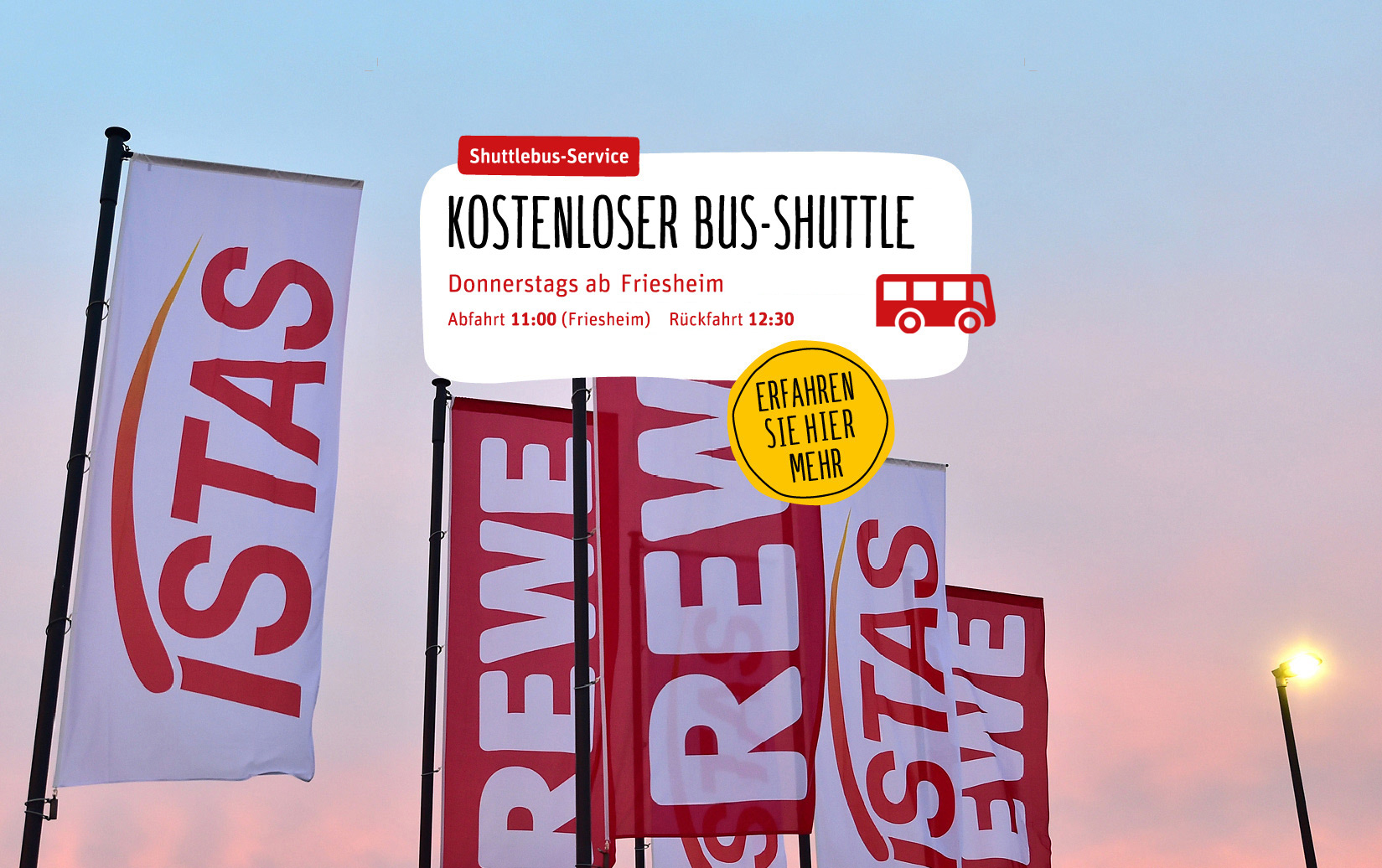 Shuttleservice nach Lechenich