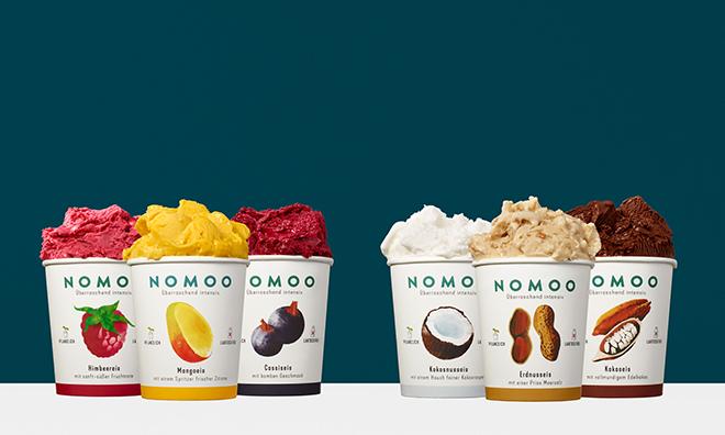 NOMOO Eissorten veganes Eis