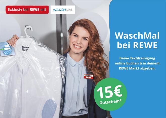 WaschMal bei REWE Istas