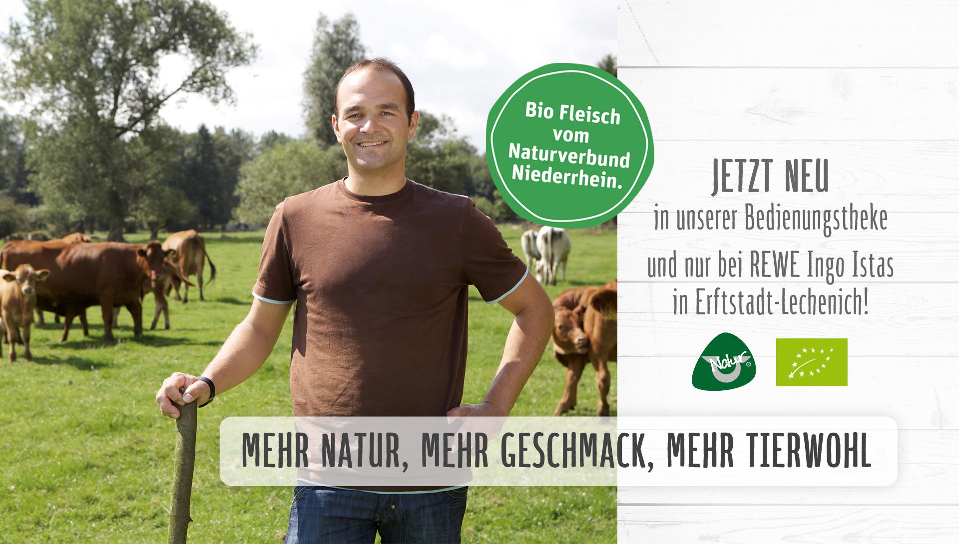 Biofleisch vom Naturverbund Niederrhein