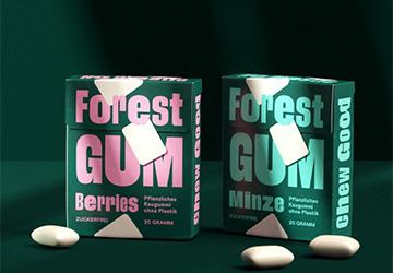 Forest Gum – Kaugummi ohne Plastik