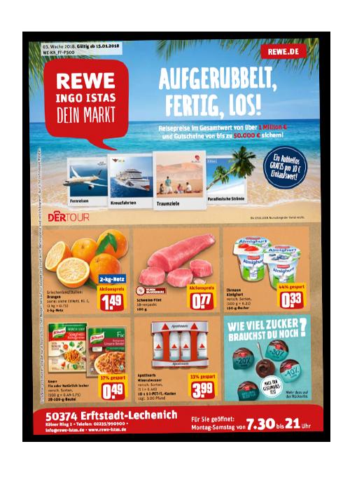 REWE Istas Handzettel Erftstadt-Lechenich KW 03/2018