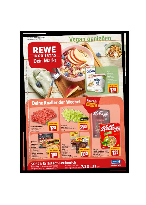 REWE Istas Handzettel Erftstadt-Lechenich KW 04/2021