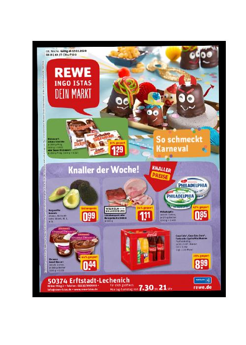 REWE Istas Handzettel Erftstadt-Lechenich KW 08/2020