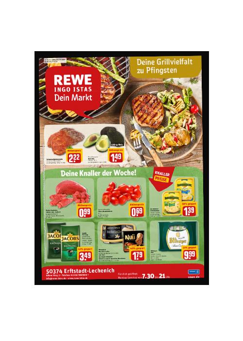 REWE Istas Handzettel Erftstadt-Lechenich KW 20/2021