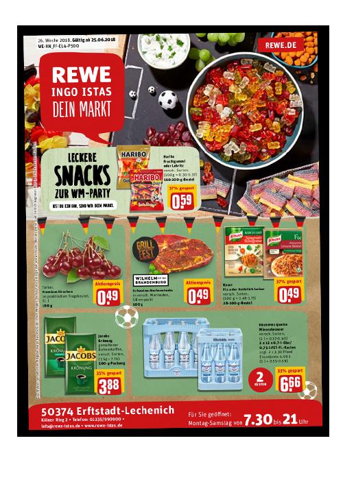 Groß Getränke Angebote Rewe Bilder - Die Kinderzimmer Design Ideen ...