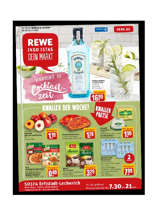 REWE Istas Handzettel Erftstadt-Lechenich KW 26/2019