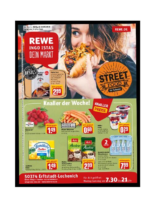 REWE Istas Handzettel Erftstadt-Lechenich KW 34/2019