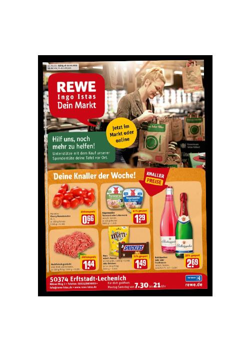 REWE Istas Handzettel Erftstadt-Lechenich KW 41/2021