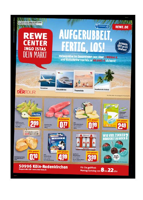 REWE Istas Handzettel Köln-Rodenkirchen KW 03/2018