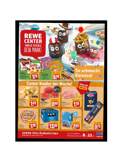 REWE Istas Handzettel Köln-Rodenkirchen KW 08/2020