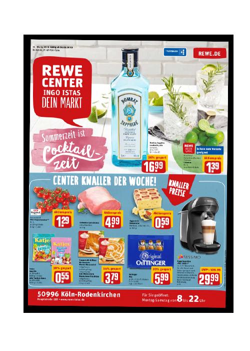 REWE Istas Handzettel Köln-Rodenkirchen KW 26/2019