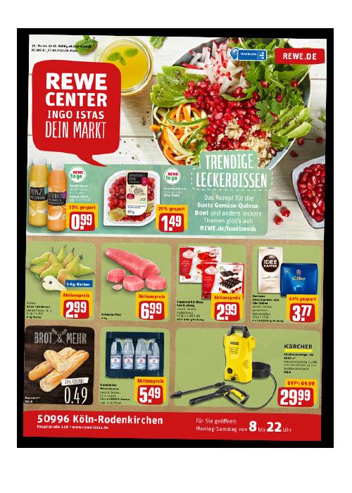 REWE Istas Handzettel Köln-Rodenkirchen KW 38/2018