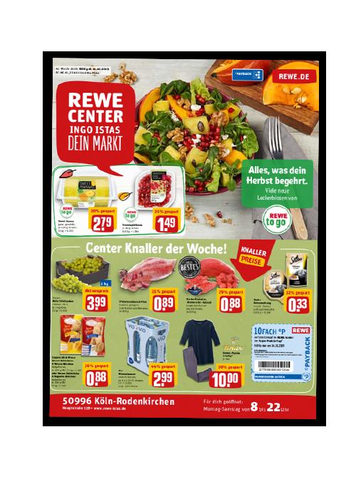 REWE Istas Handzettel Köln-Rodenkirchen KW 42/2019