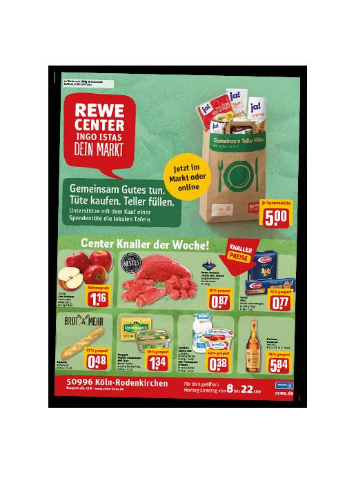 REWE Istas Handzettel Köln-Rodenkirchen KW 43/2020