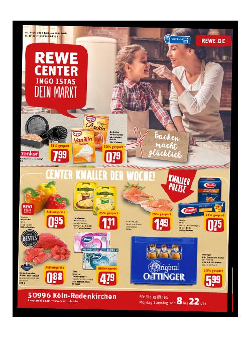 REWE Istas Handzettel Köln-Rodenkirchen KW 46/2018