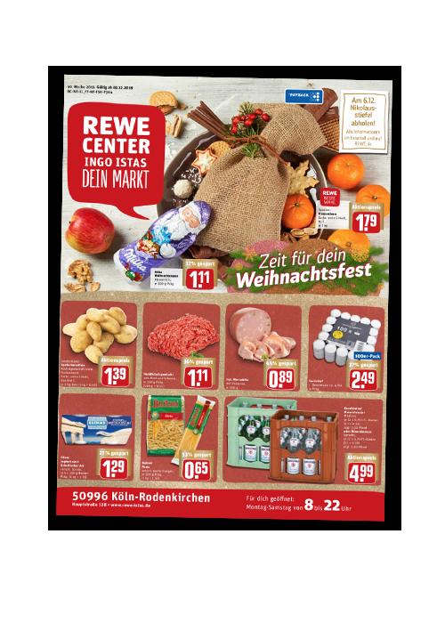 REWE Istas Handzettel Köln-Rodenkirchen KW 49/2019