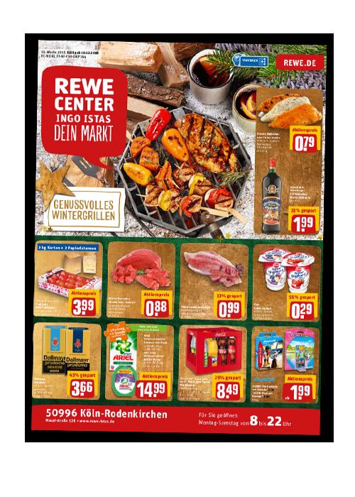 REWE Istas Handzettel Köln-Rodenkirchen KW 50/2018