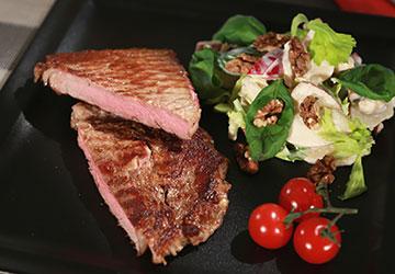 Rezept der Woche: Dry-aged Rib-eye Steak à la Waldorf