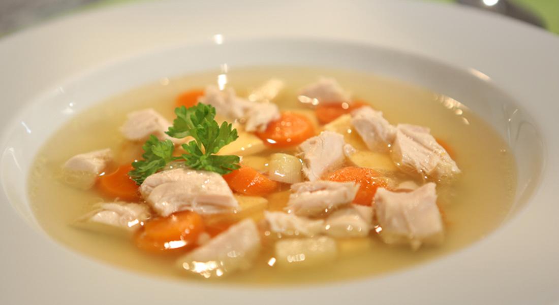Rezept: Hühnersuppe mit Eierstich