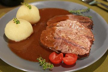 Rezept der Woche: Rinderschulter in Rotwein-Marinade