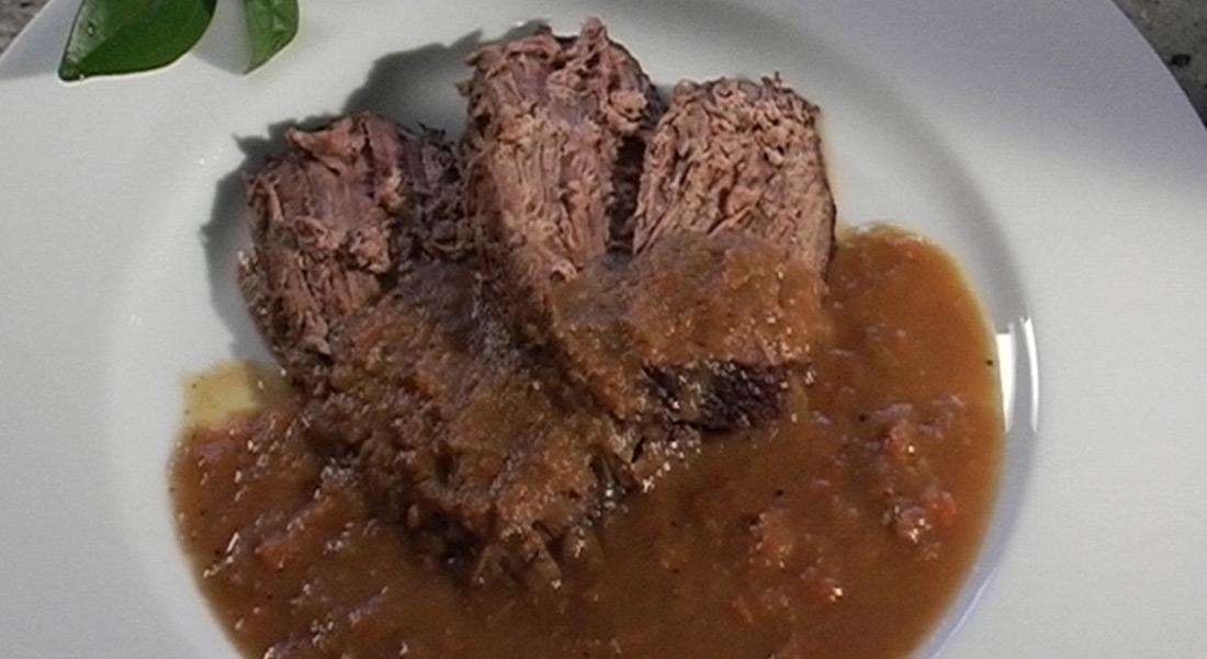 Rezept: Rotweinschmorbraten