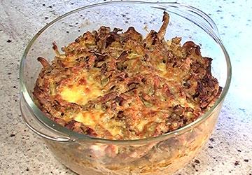 Rezept der Woche: Sauerkrautauflauf