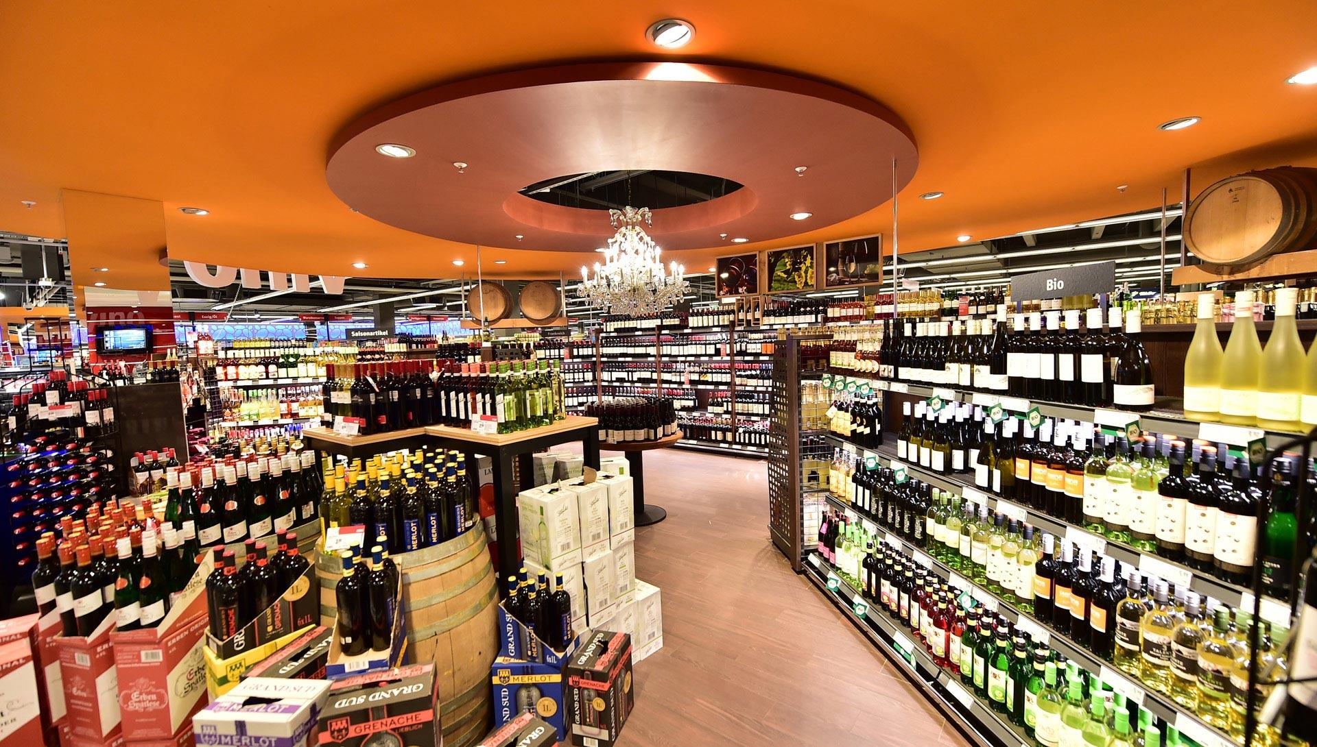 Wein bei REWE Istas Rodenkirchen