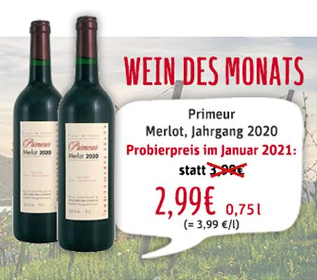 Wein des Monats Januar 2021