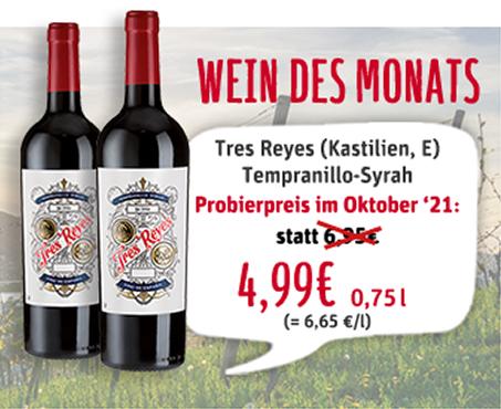Wein des Monats Oktober 2021