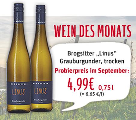 Wein des Monats September 2020