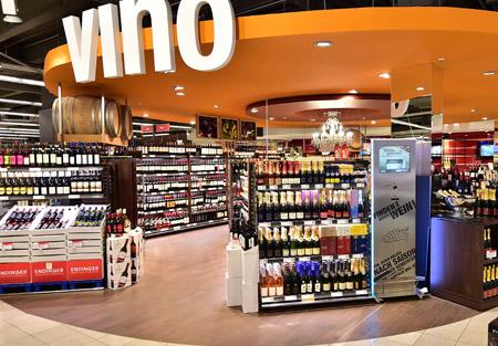 Wein bei REWE Istas in Köln
